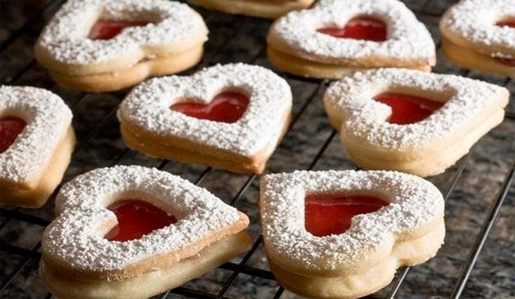 Biscuits Sablés à la Confiture Pour Noël