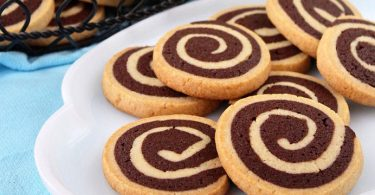 Biscuits escargot vanille chocolat