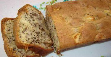 Cake aux pommes et aux noix recette facile