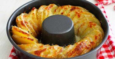 Couronne de pommes de terre au four facile
