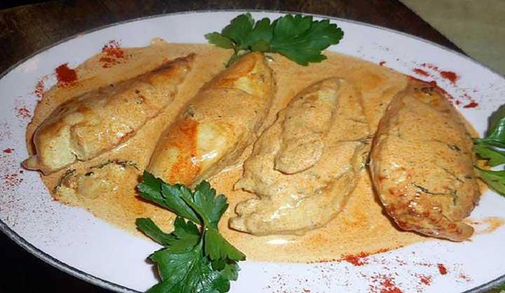Filets de poulet au paprika recette facile à faire