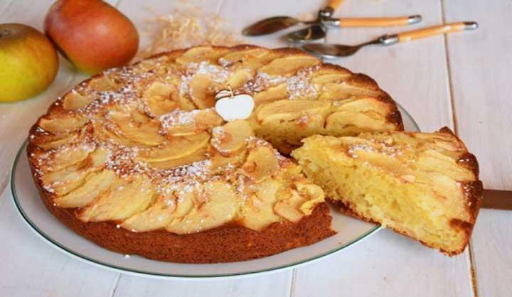 Gâteau aux pommes à l'ancienne quel régal