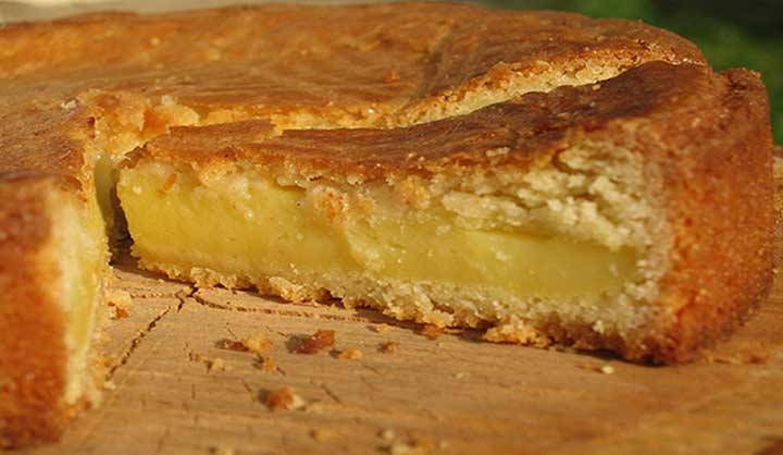 Gâteau basque traditionnel recette facile