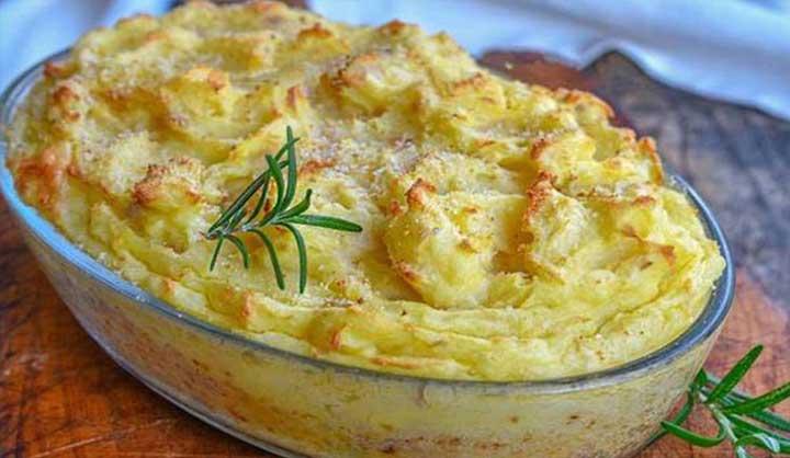 Gâteau de Pommes de Terre au Thon un Régal