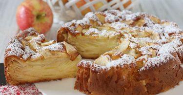 Gâteau invisible aux pommes façon Cyril Lignac