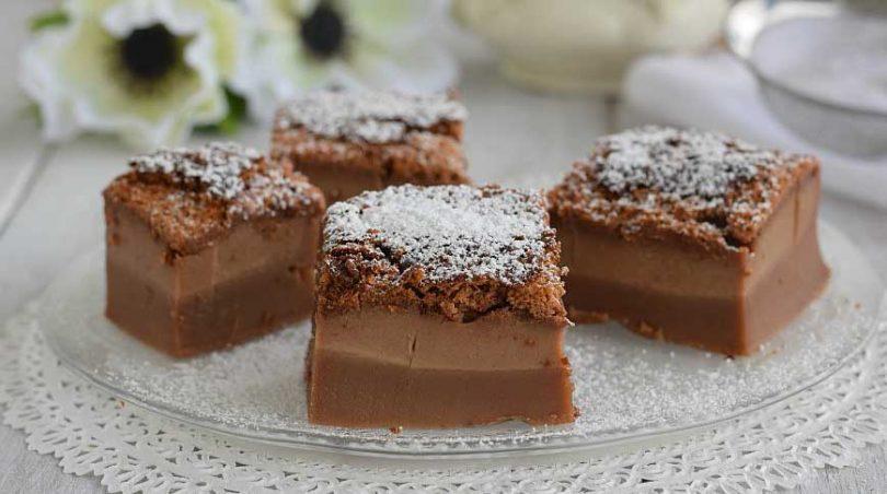 Gâteau magique au Nutella facile