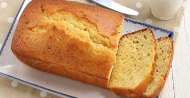 Gâteau nature sans yaourt facile