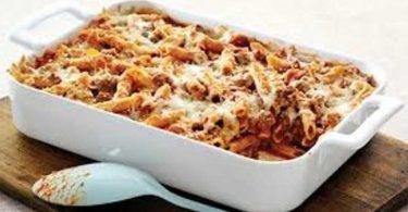 Gratin de macaroni à l'italienne