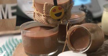 Panna cotta au chocola