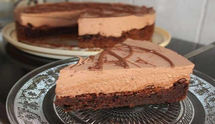 Gâteau mousse au chocolat recette facile