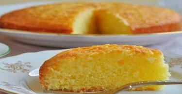 Recette de gâteau moelleux au citron