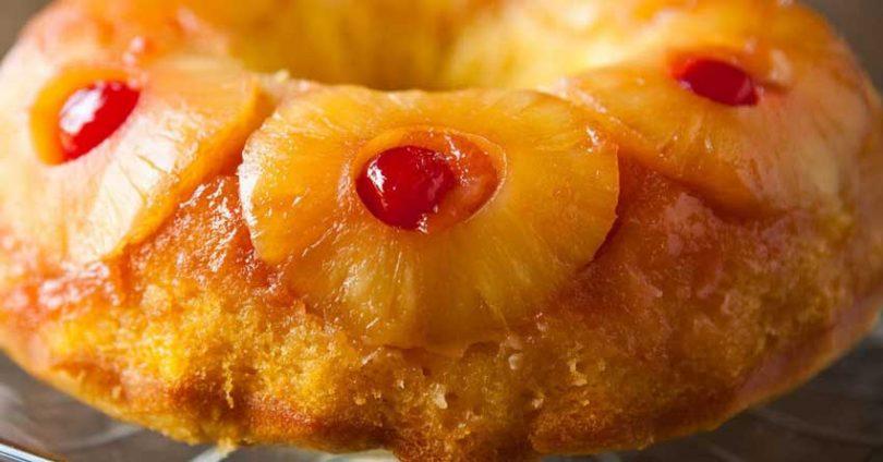 Recette : le gâteau renversé à l'ananas de notre enfance sans sucre et tellement bon