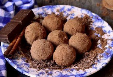Truffes coeur passion au chocolat au lait