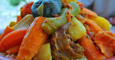 Couscous Marocain Traditionnel