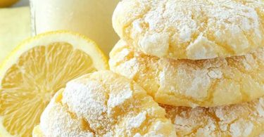 Cookies citron ultra facile en 10min