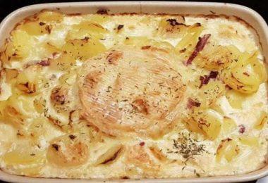 Gratin de pommes de terre à la normande