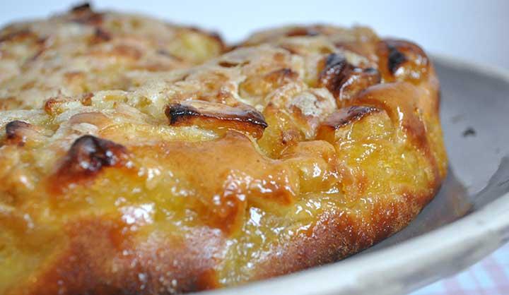 Moelleux aux pommes et sa croûte croustillante !