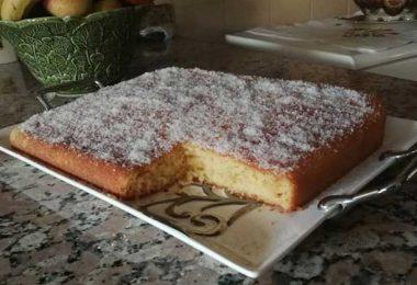Recette Gâteau yaourt à la noix de coco Facile