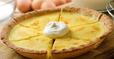Tarte à la crème pâtissière et à la noix de coco