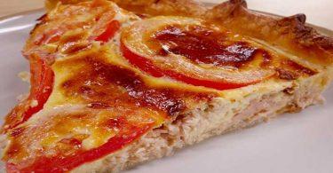 Tarte thon tomate et Moutarde
