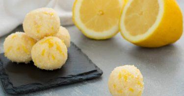 Truffes au citron en 10 minutes facile