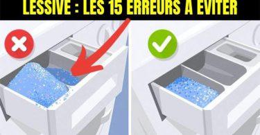 15 Erreurs Que Tout le Monde Fait Quand On Lave Ses Vêtements en Machine